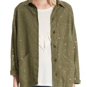 The Great The Field Metallic Speckle Jacket